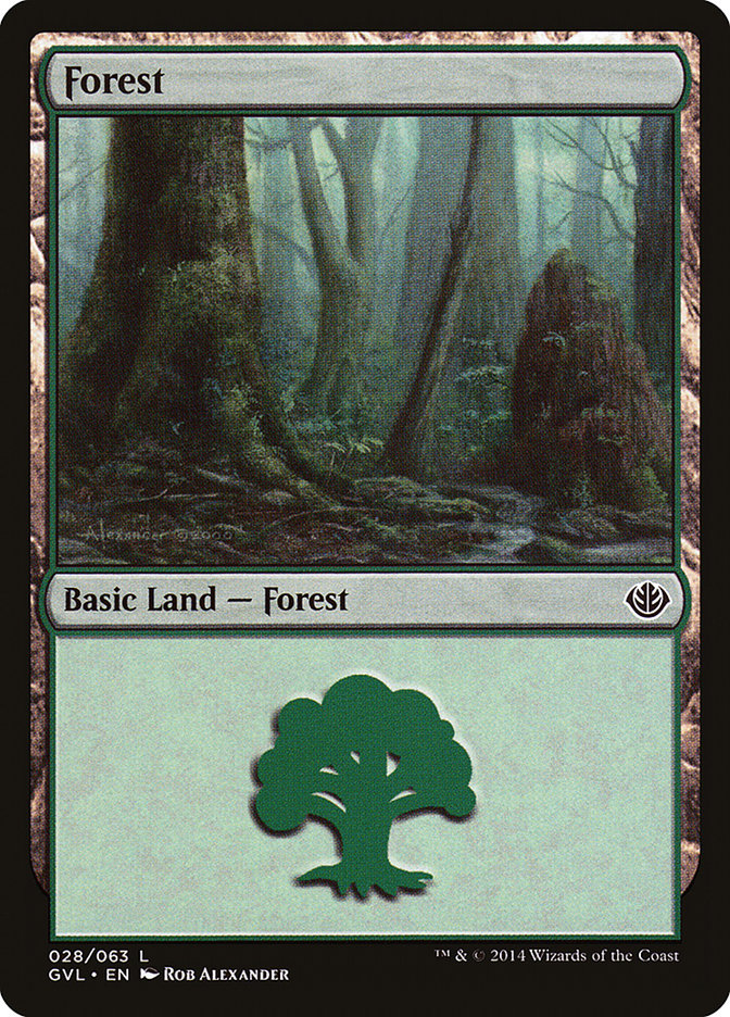 Forest (#28) (Garruk vs. Liliana)