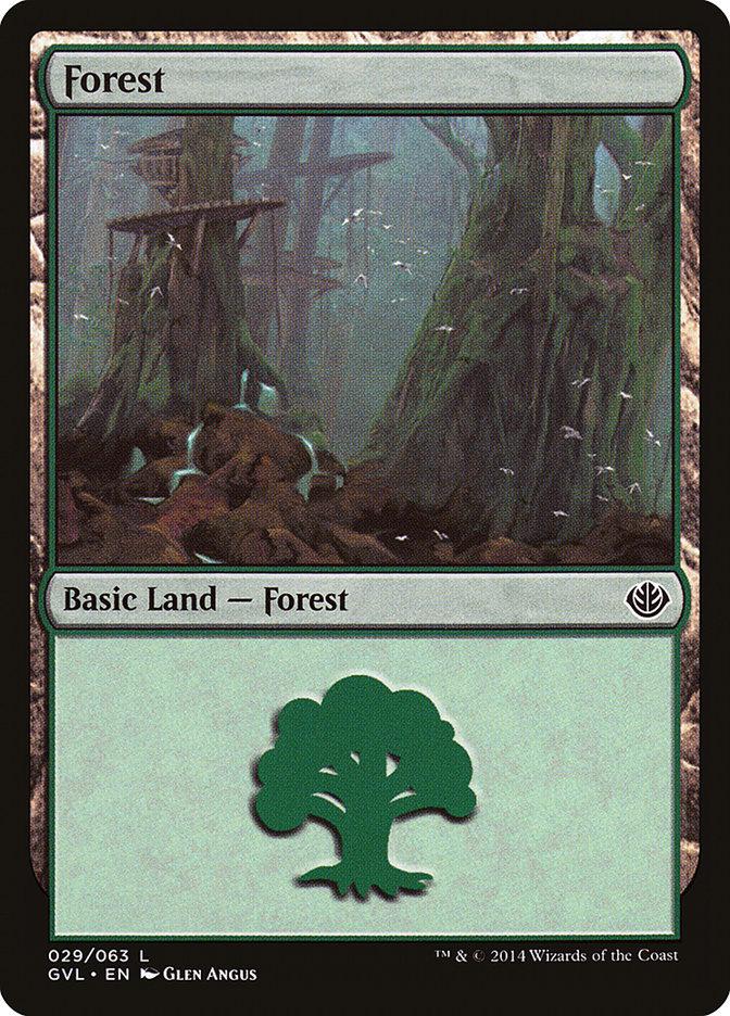 Forest (#29) (Garruk vs. Liliana)