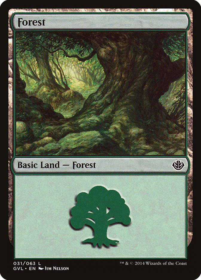 Forest (#31) (Garruk vs. Liliana)