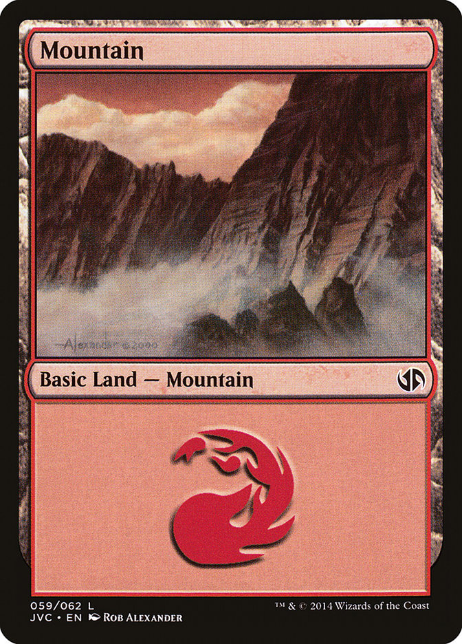 Mountain (#59) (Jace vs. Chandra)