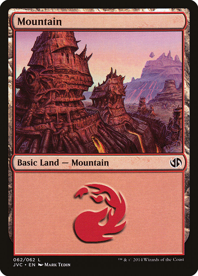 Mountain (#62) (Jace vs. Chandra)