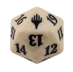 Magic Spindown Die - Planeswalker Symbol - White