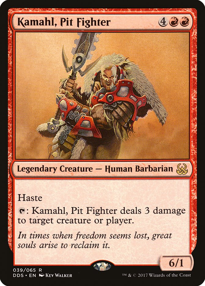 Kamahl, Pit Fighter (Pre-Order: Ships Mar 31)