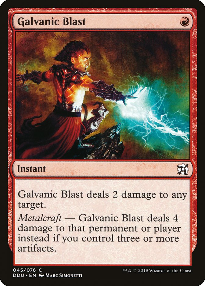 Galvanic Blast (Pre-Order: Ships Apr 6)