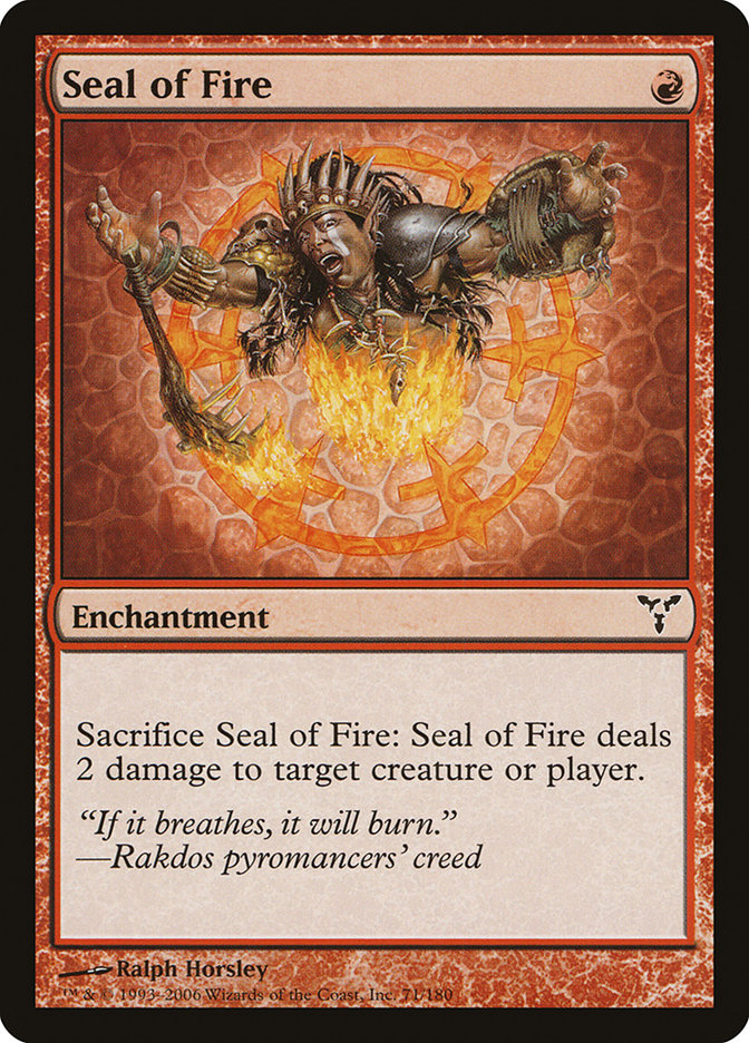 Seal of Fire