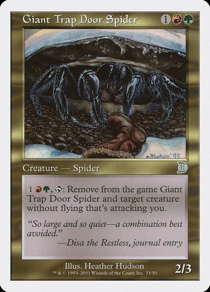 Giant Trap Door Spider