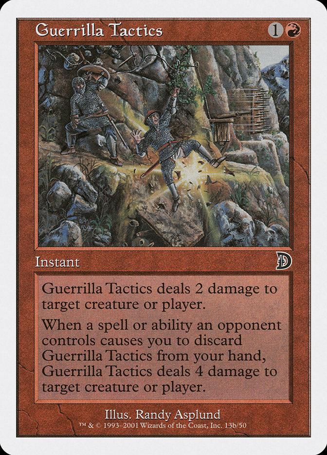 Guerrilla Tactics (#13b)