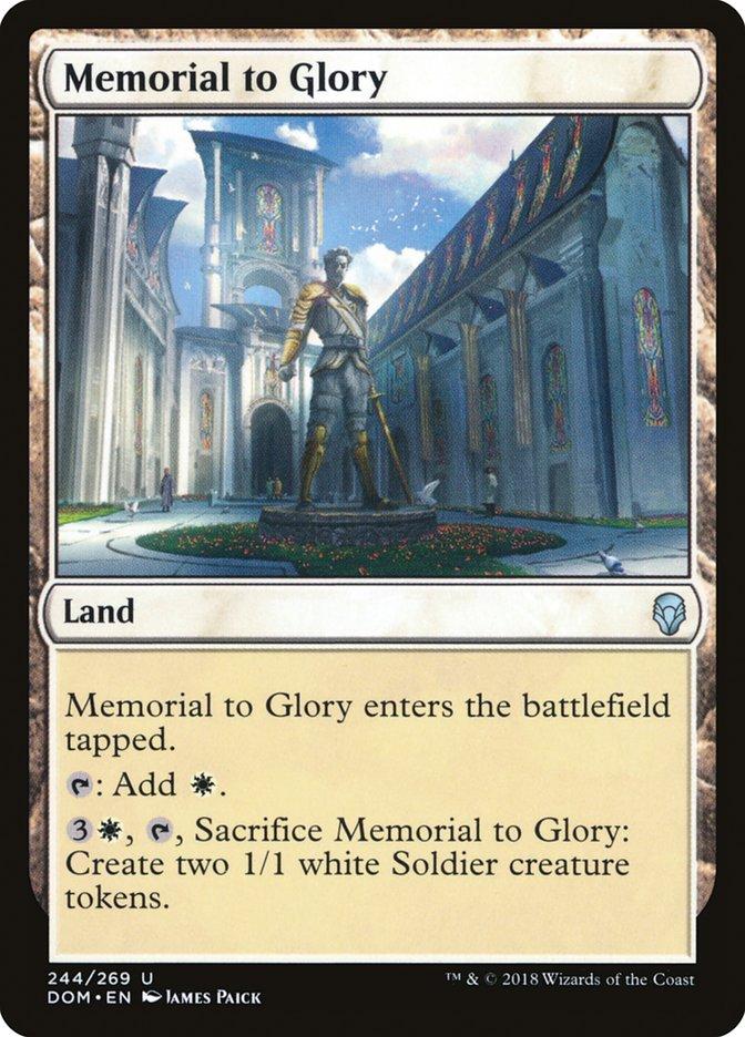 Memorial to Glory
