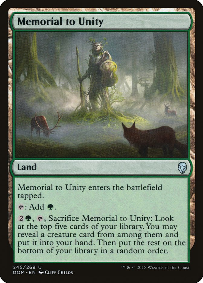 Memorial to Unity