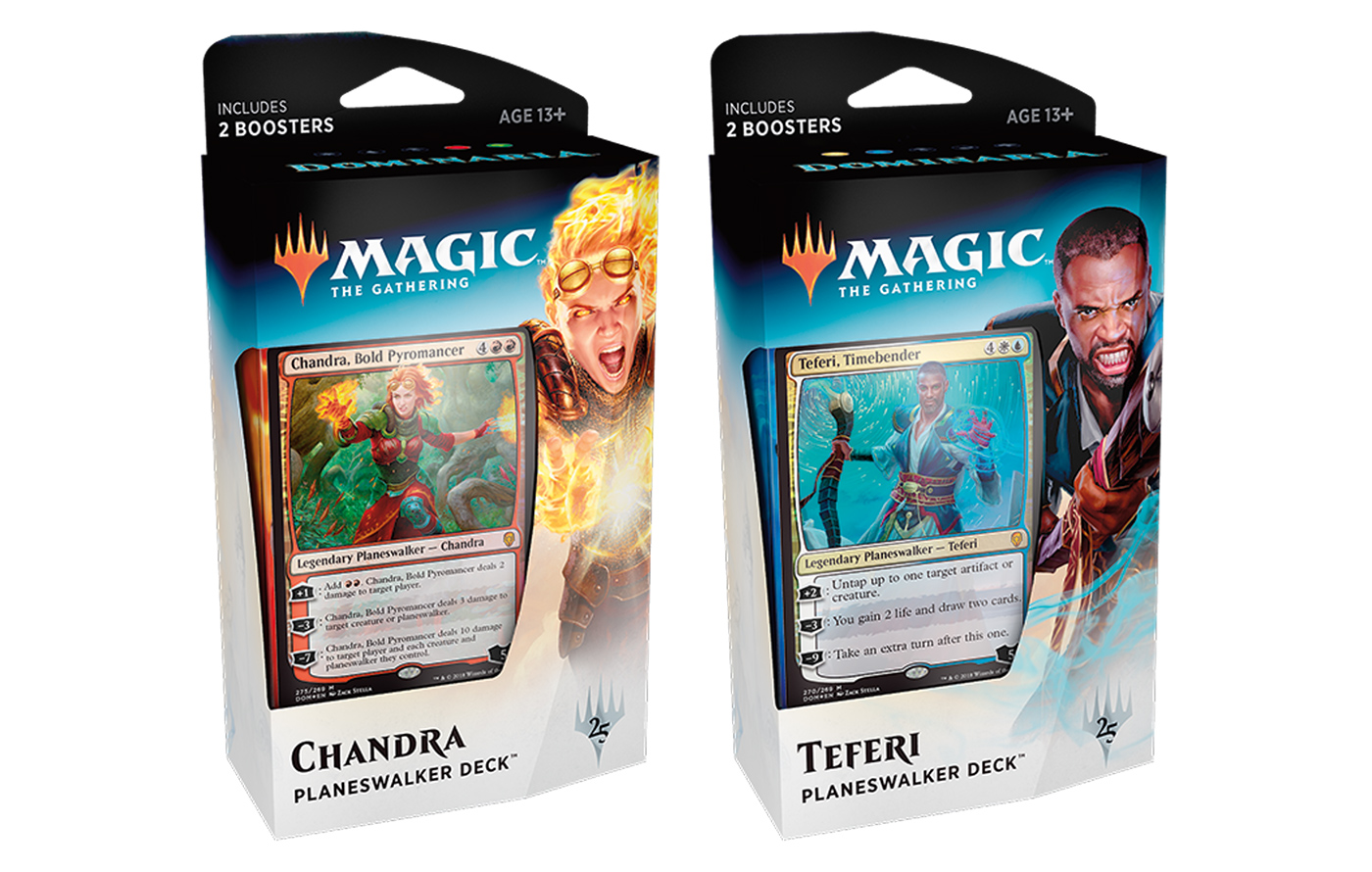 Dominaria Planeswalker Deck -- Set of 2