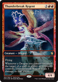Thunderbreak Regent (Dragons of Tarkir Game Day) (Full-Art)