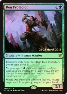 Den Protector (Dragons of Tarkir Prerelease)