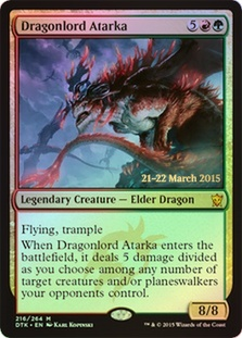 Dragonlord Atarka (Dragons of Tarkir Prerelease)
