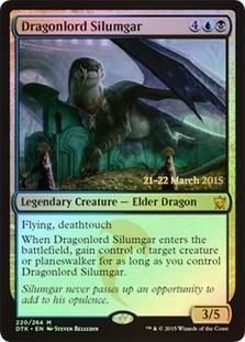 Dragonlord Silumgar (Dragons of Tarkir Prerelease)