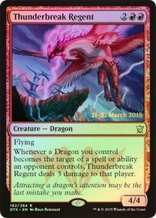 Thunderbreak Regent (Dragons of Tarkir Prerelease)