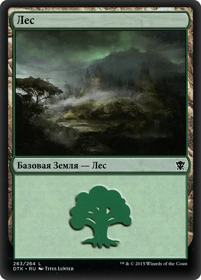 Forest (#263) (Dragons of Tarkir)
