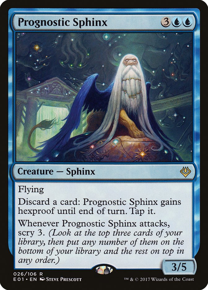 Prognostic Sphinx