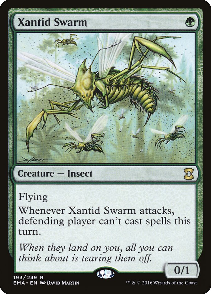 Xantid Swarm Magic Card