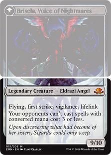 Brisela, Voice of Nightmares (Bottom) (Flip side of the multi-part card Bruna, the Fading Light)
