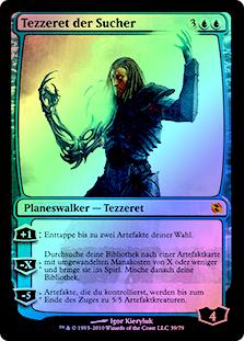Tezzeret the Seeker (FOIL) (Duels: Elspeth vs. Tezzeret)