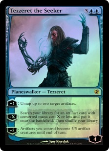 Tezzeret the Seeker (FOIL)