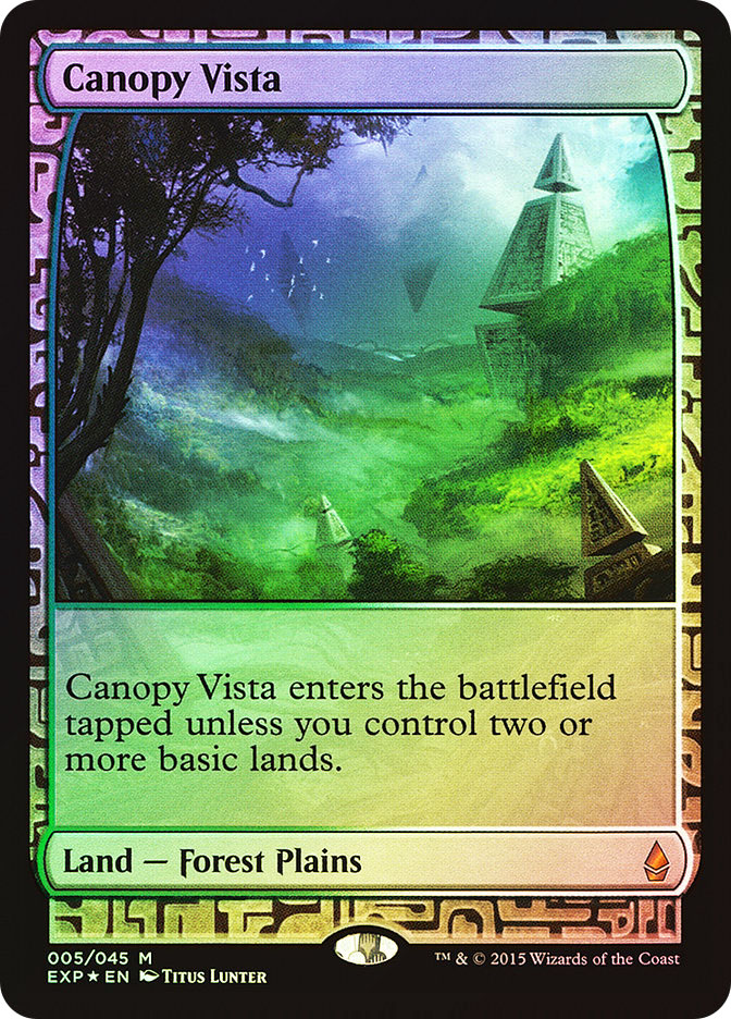 Canopy Vista (Full-Art)