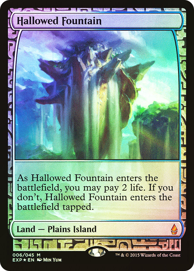 Hallowed Fountain (Full-Art)