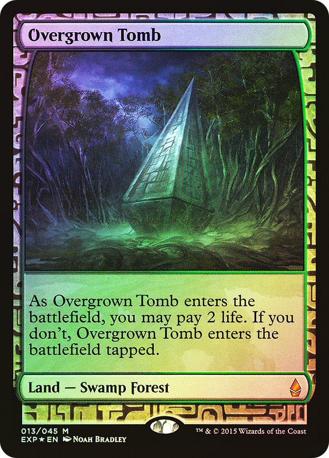 Overgrown Tomb (Full-Art)