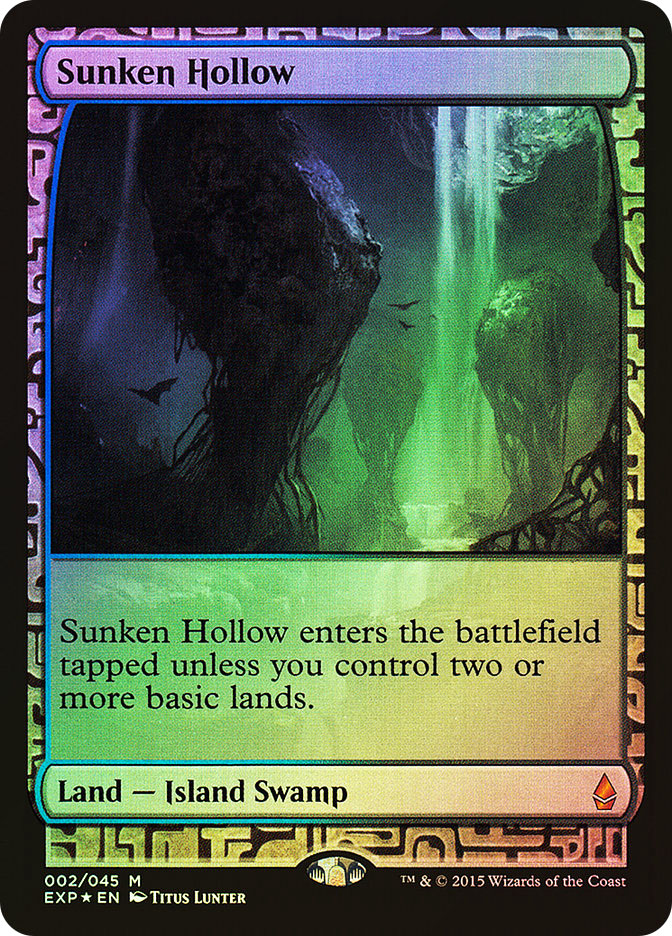 Sunken Hollow (Full-Art)