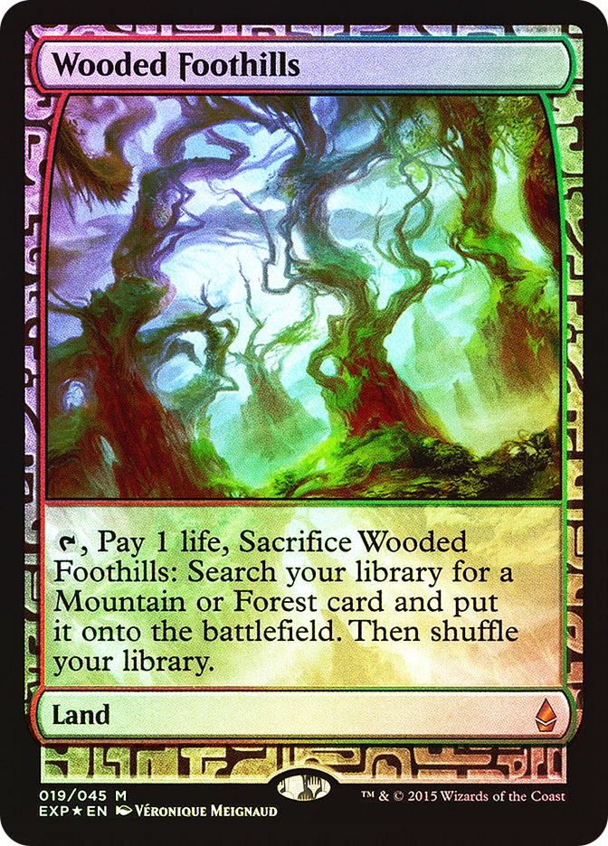Wooded Foothills (Full-Art)