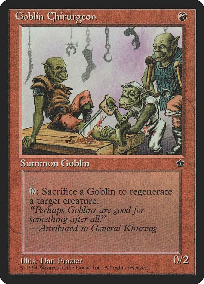Goblin Chirurgeon (Dan Frazier)