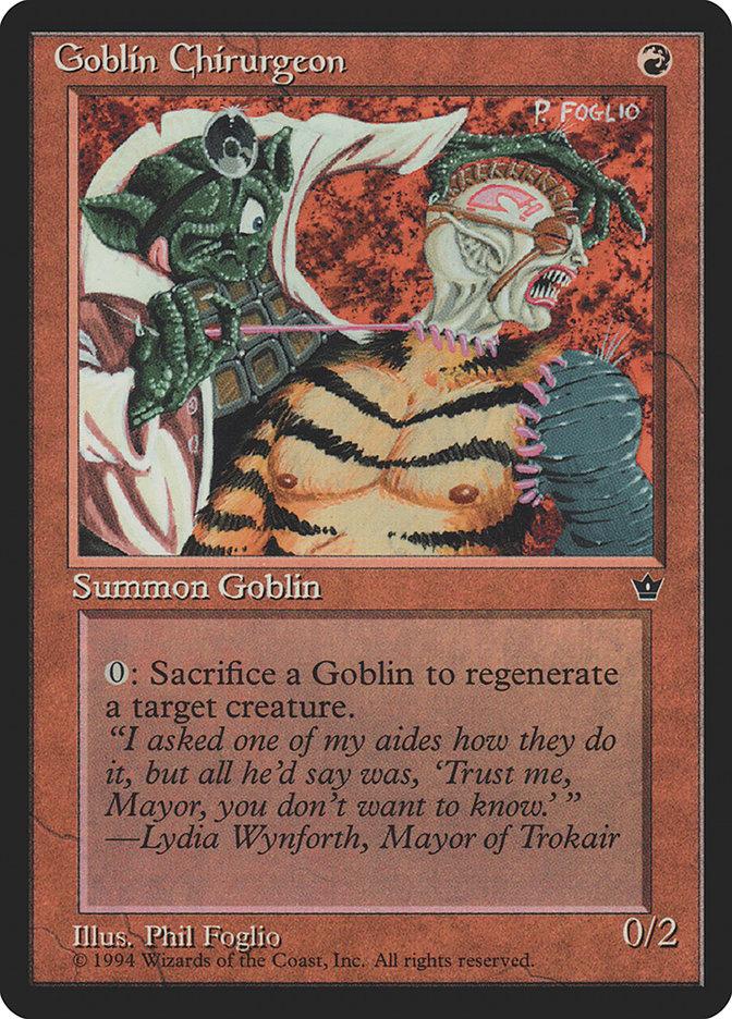 Goblin Chirurgeon (Phil Foglio)
