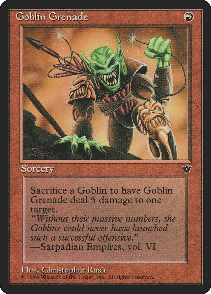 Goblin Grenade (Christopher Rush)