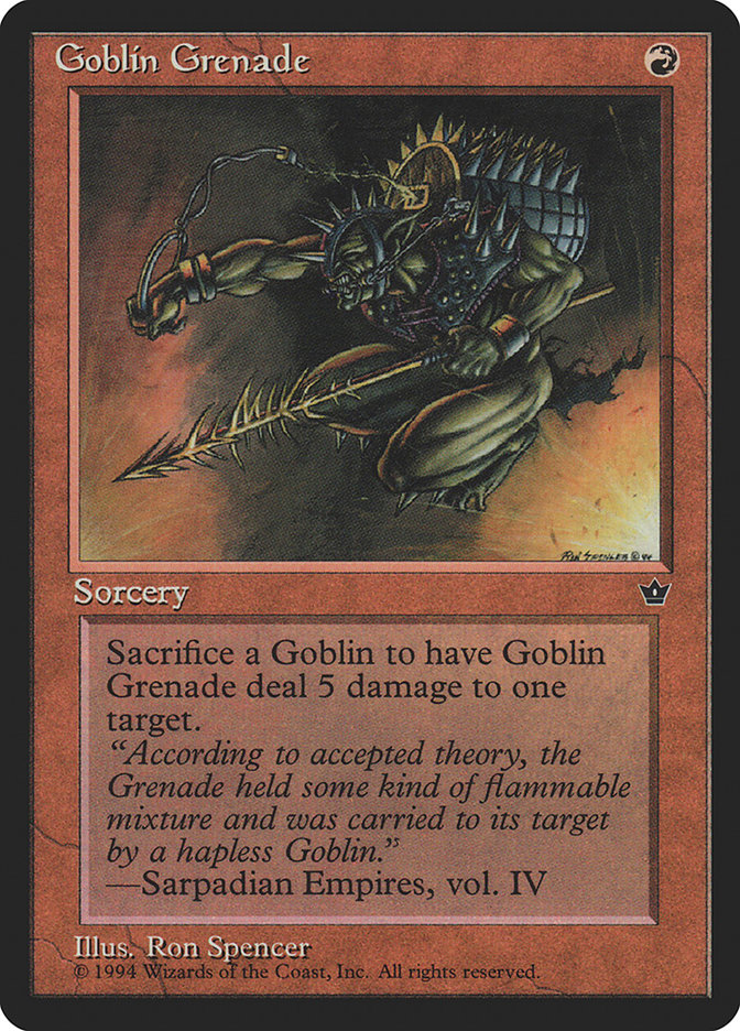 Goblin Grenade (Ron Spencer)
