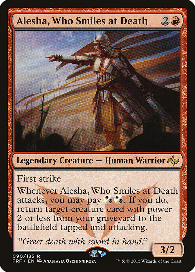 Alesha, Who Smiles at Death