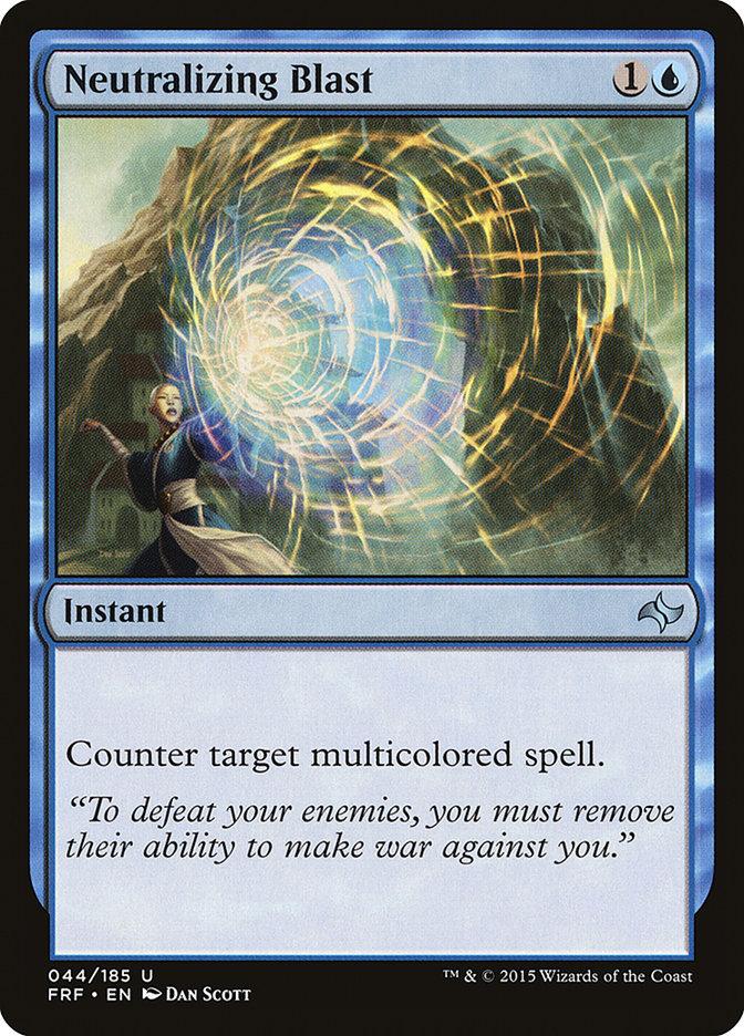 Neutralizing Blast