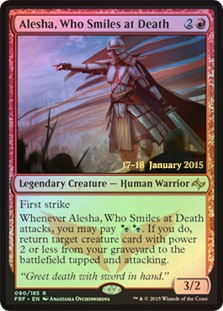 Alesha, Who Smiles at Death (Fate Reforged Prerelease)