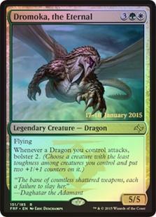 Dromoka, the Eternal (Fate Reforged Prerelease)