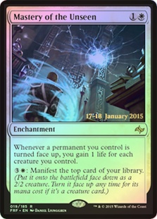 Mastery of the Unseen (Fate Reforged Prerelease)