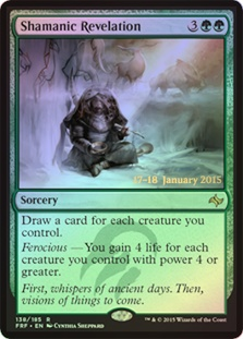 Shamanic Revelation (Fate Reforged Prerelease)