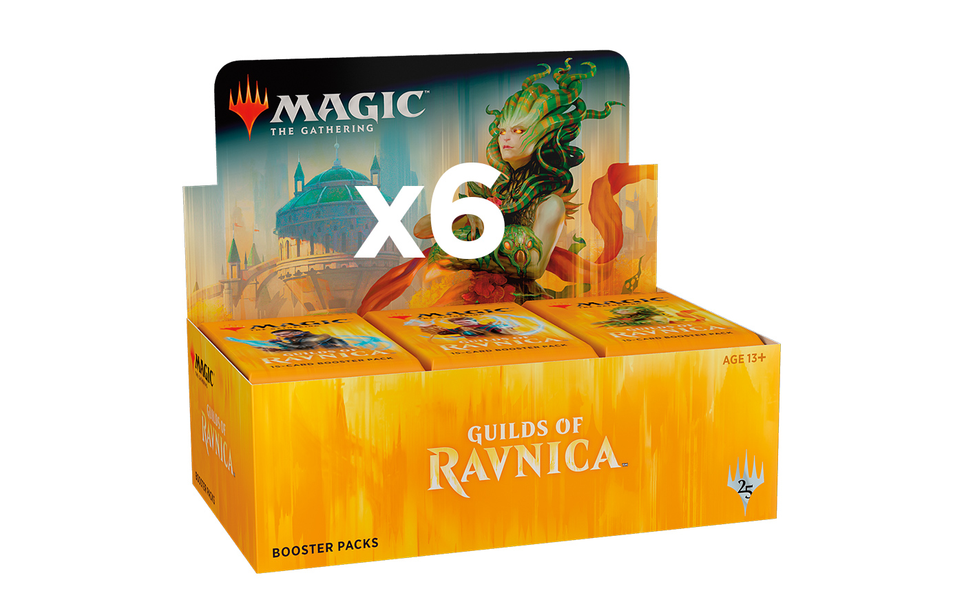 Guilds of Ravnica Booster Case (6 boxes)