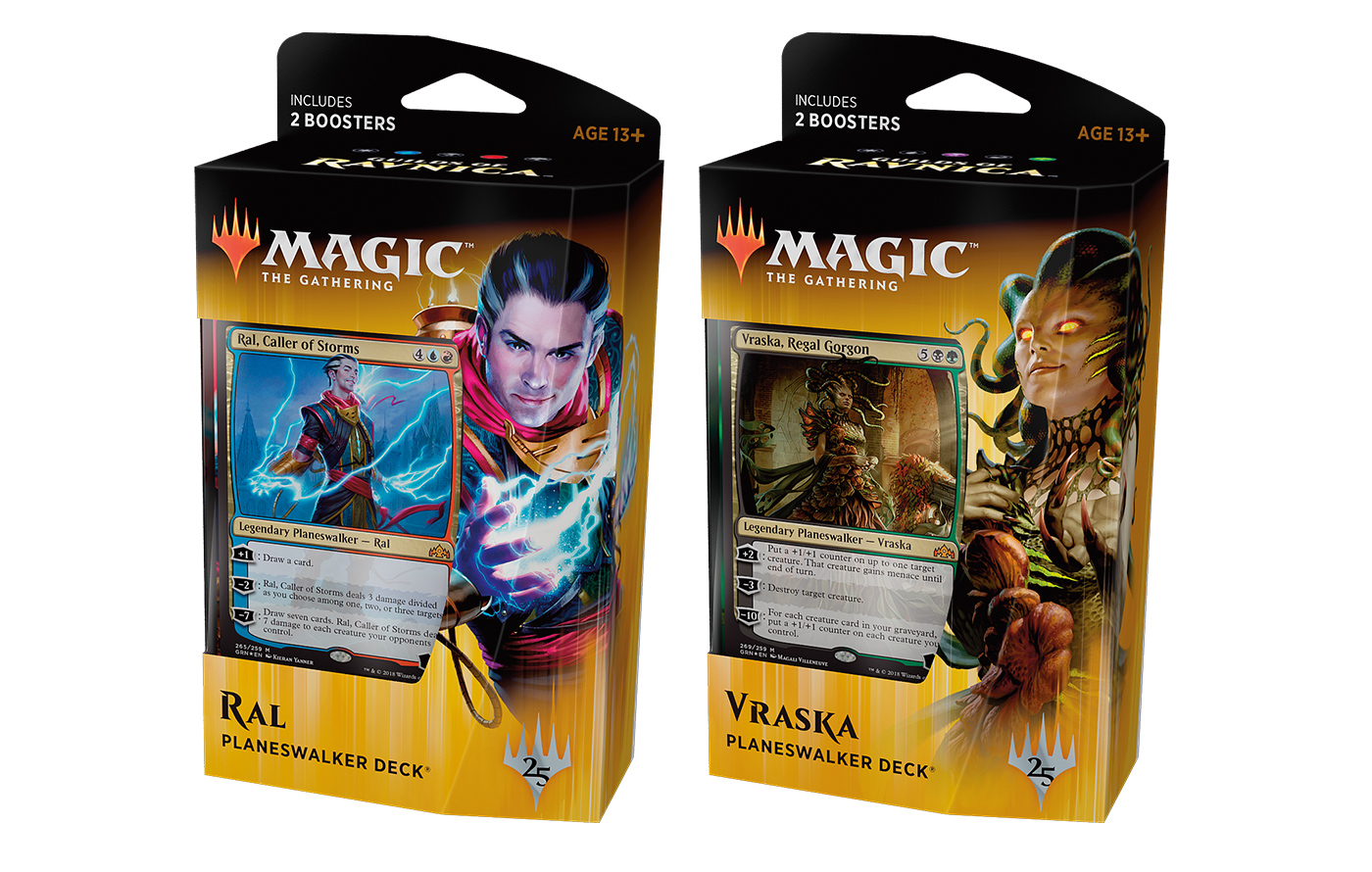 Guilds of Ravnica Planeswalker Deck -- Set of 2