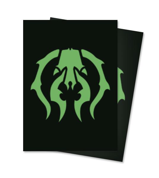 Ultra Pro Magic Matte Sleeves - Guilds of Ravnica - Golgari