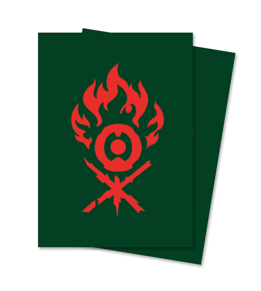 Ultra Pro Magic Matte Sleeves - Guilds of Ravnica - Gruul