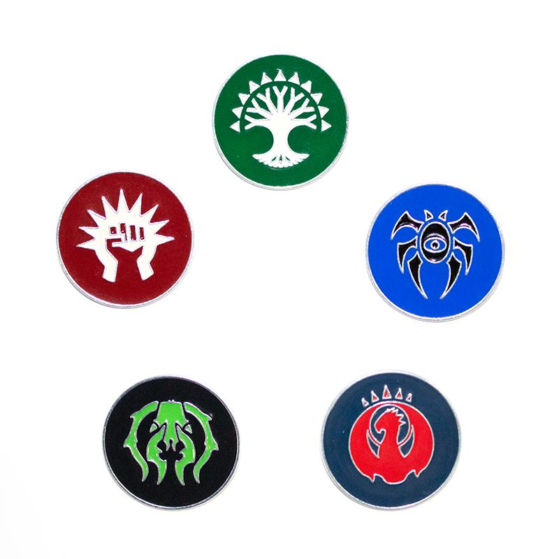 Guild Kit Pin -- Set of Five