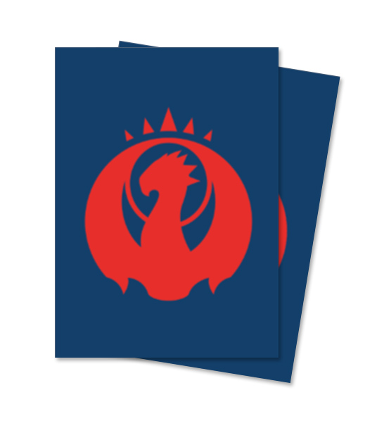 Ultra Pro Magic Matte Sleeves - Guilds of Ravnica - Izzet