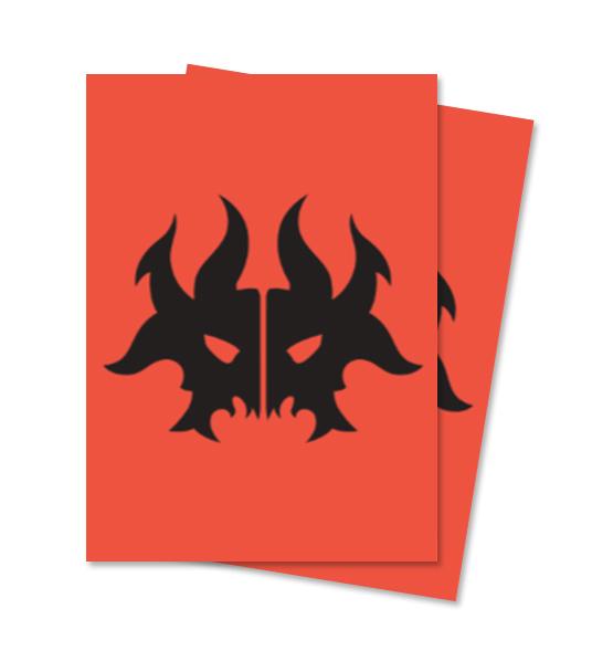 Ultra Pro Magic Matte Sleeves - Guilds of Ravnica - Rakdos