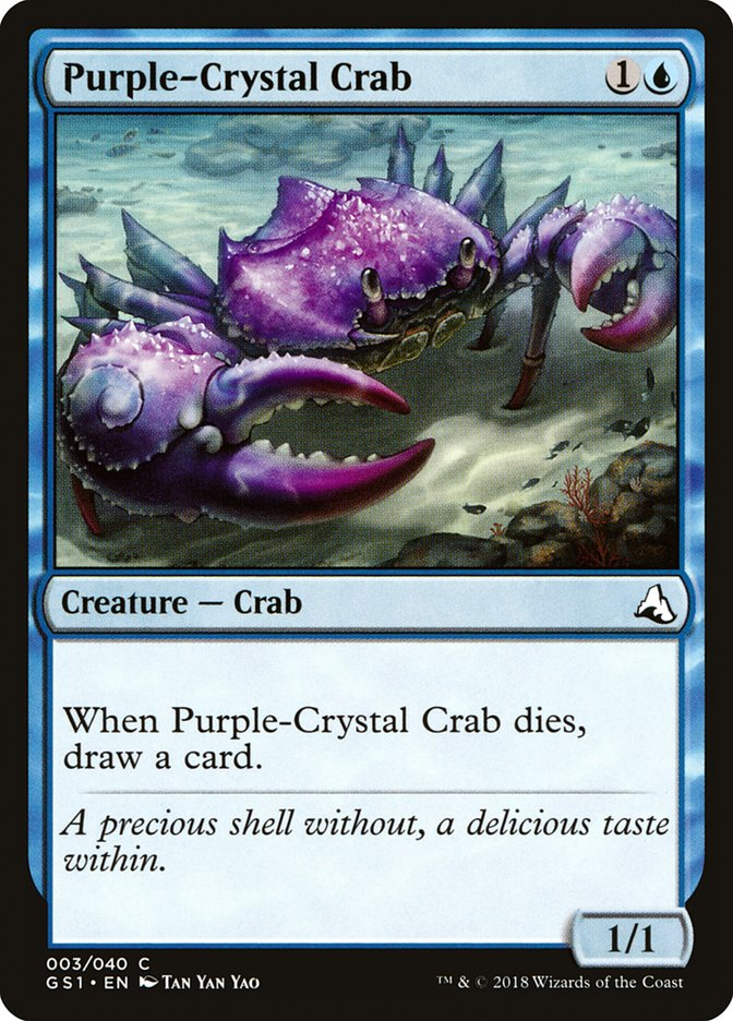 Purple-Crystal Crab