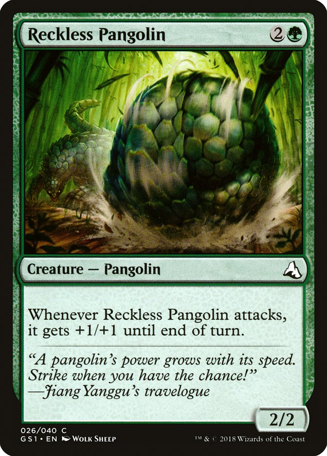 Reckless Pangolin