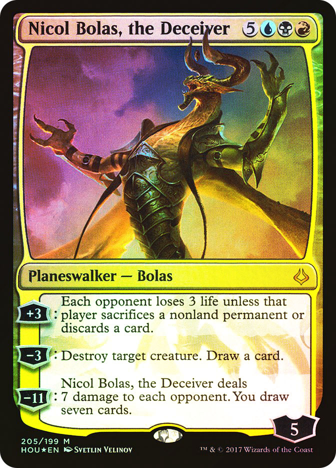 Nicol Bolas, the Deceiver